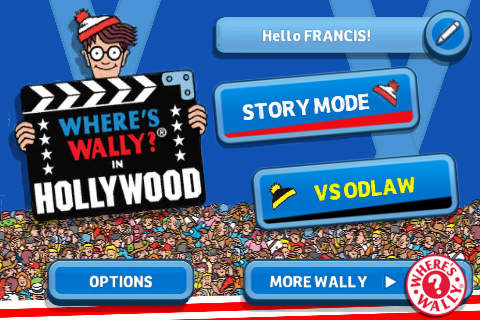 Where's Wally ® in Hollywood