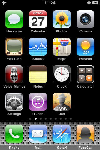 Dad SMS screenshot 1