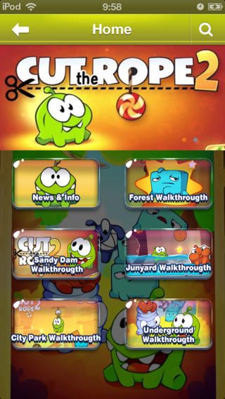 Ultimate Guide for Cut the Rope 2 - All Levels Strategy Guide Video Walkthrough Tips Tricks