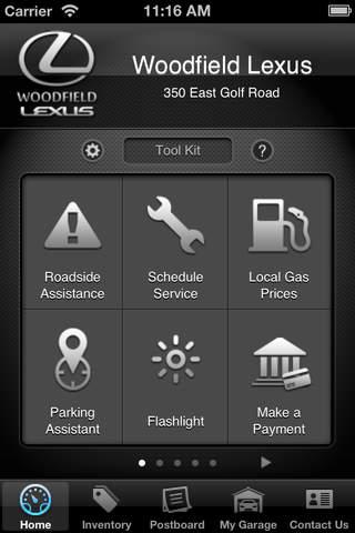 Woodfield Lexus DealerApp