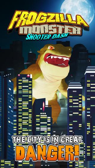 Frogzilla Mighty Legends: Godzilla Monster Shooter Heroes