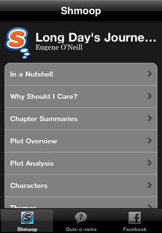 Long Day's Journey Into Night Study Guide Quiz-o-Rama
