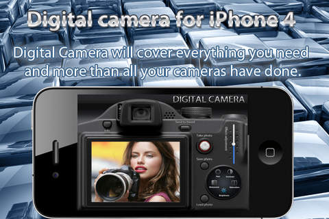Digital Camera for iPhone 4