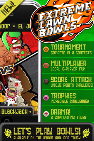 Extreme Lawn Bowls iPhone Screenshot 1