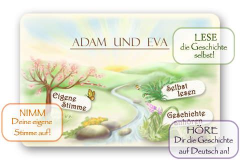 Bibel für Kinder: Adam und Eva