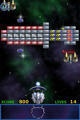 Meteor - Brick Breaker iPhone Screenshot 3