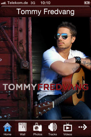 Tommy Fredvang Official App