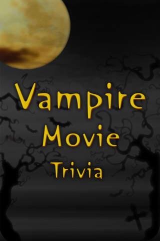 Vampire Movie Trivia