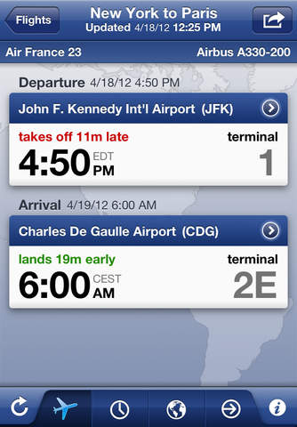 FlightTrack Pro – Live Flight Status Tracker by Mobiata screenshot 2