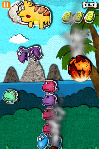 Pocket Dinosaurs 1 iPhone Screenshot 2