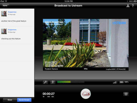 Broadcaster screenshot
