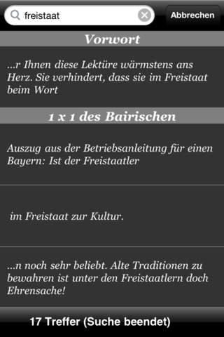 Bairisch für Anfänger iPhone Screenshot 4