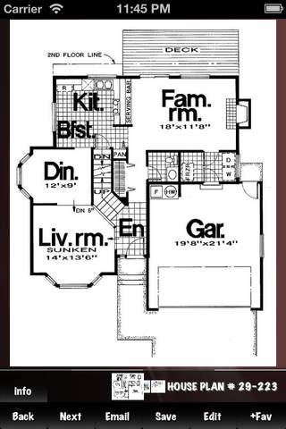 House plans database