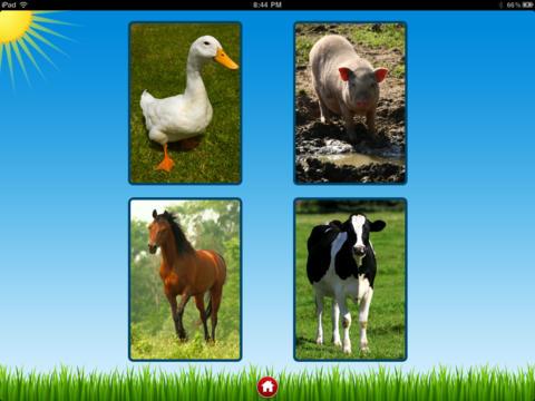 Farm Sounds Lite - Free Barn Animal Noises for your Kids iPad Screenshot 2