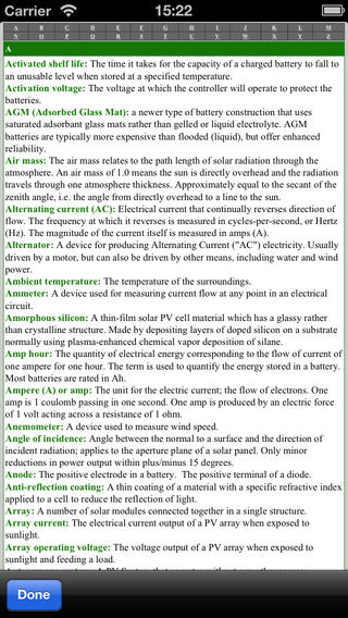 PV Master - The professional app tool for photovoltaic panels and solar panels iPhone Screenshot 4
