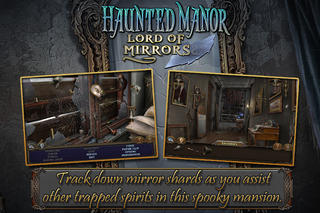 Screenshots of Haunted Manor: Lord of Mirrors (Full) for iPhone