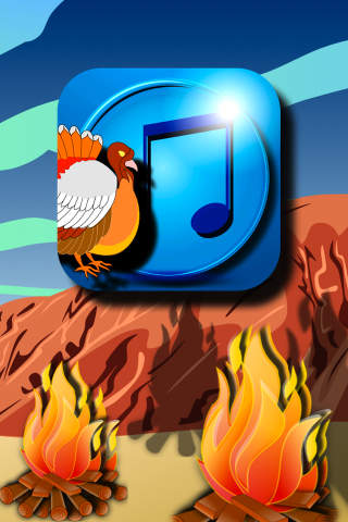 Tapping Turkey Ringtones Game iPhone Screenshot 1