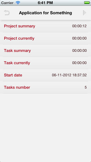 Work Diary - Stopwatch for your projects