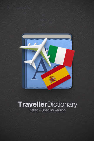 Traveller Dictionary and Phrasebook Italian - Spanish