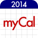 myCal: Calendar & Event Organiser mobile app icon