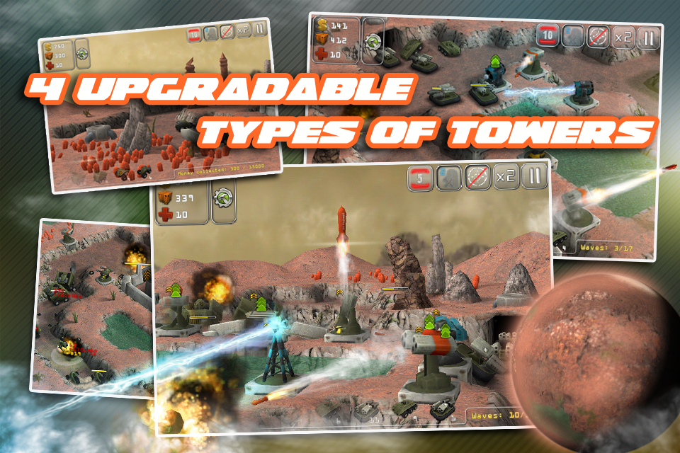 Total Defense 3D HD Ported to the iPhone!