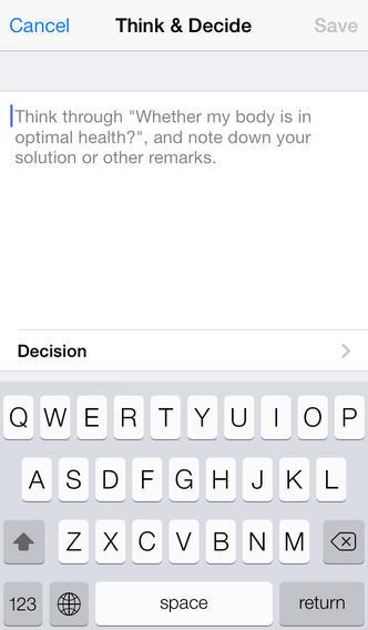 iWorry Lite iPhone Screenshot 3