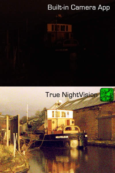 True NightVision - iPhone Mobile Analytics and App Store Data