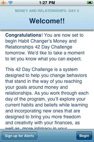 Habit Changer® Money And Relationships