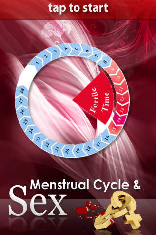 Illustrative Menstrual Cycle and Sex