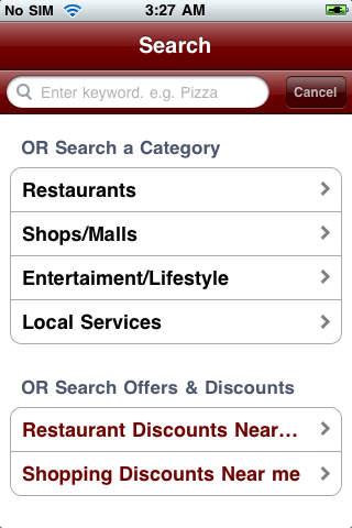 IndiaRover iPhone Screenshot 1