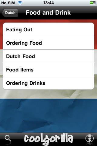 Talking Dutch Phrasebook iPhone Screenshot 5