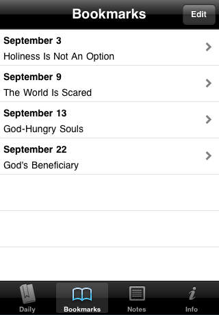 Mornings with Tozer Devotional iPhone Screenshot 2