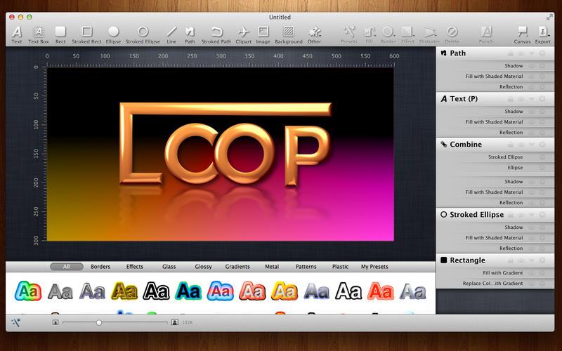 商标图案Logo设计工具 Logoist for Mac