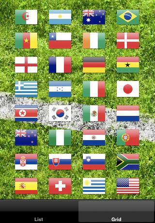 Football Anthems iPhone Screenshot 2