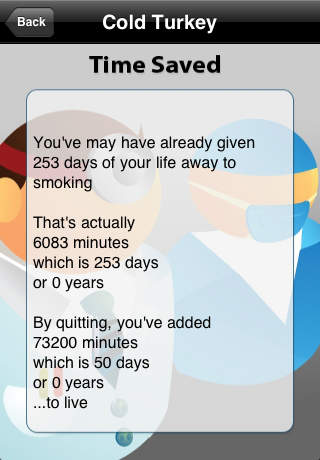Quit Smoking - Cold Turkey screenshot 3