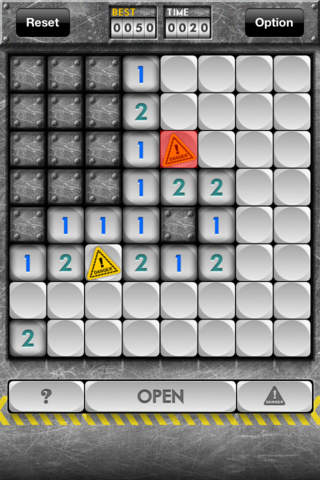MineSweeper HD version screenshot 2