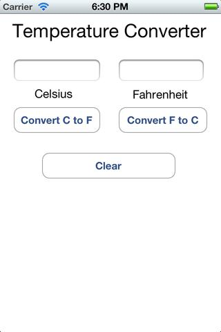 Simplistic Temperature Converter