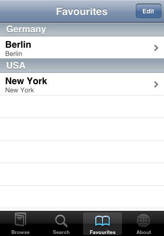 ZIPcodes iPhone Screenshot 3