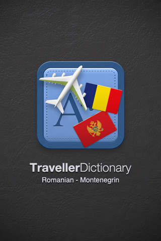 Traveller Dictionary and Phrasebook Romanian - Montenegrin