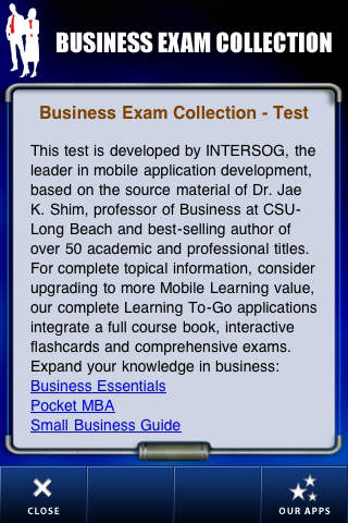 Business Exam Collection