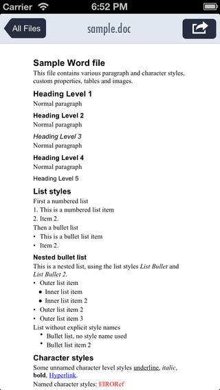 简便阅读:Simple Reader【支持多格式文档】
