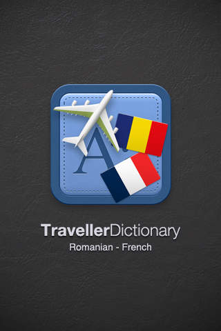 Traveller Dictionary and Phrasebook Romanian - French