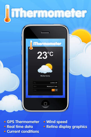 iThermometer - GPS Weather Center
