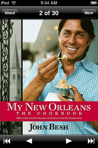 My New Orleans by John Besh iPhone Screenshot 1