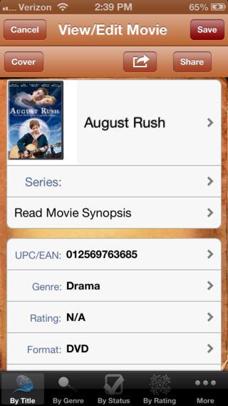 MyBoxOffice Lite iPhone Screenshot 2