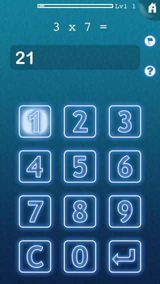 Mimir Mental Math Lite iPhone Screenshot 1