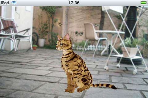 Bengal cat 触摸式宠物3D猫 逼真