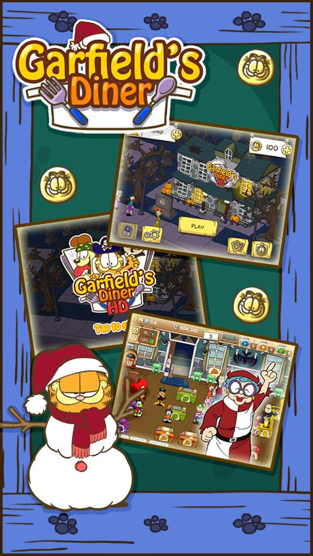 Garfield's Diner screenshot 2
