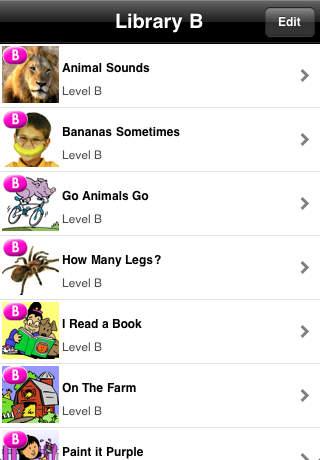 LAZ Level B Library iPhone Screenshot 1