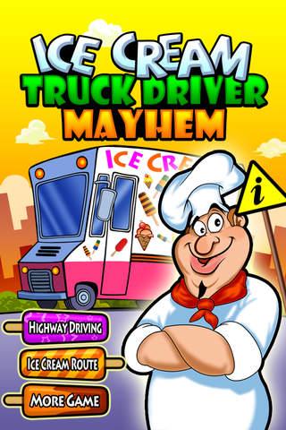 Ice Cream Truck Driver Mayhem